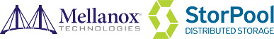 Mellanox/StorPool logo